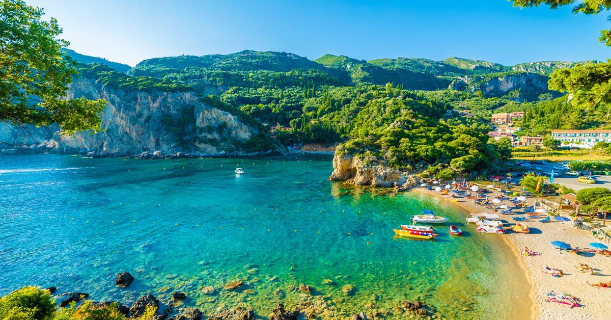 Östliches Mittelmeer Korfu