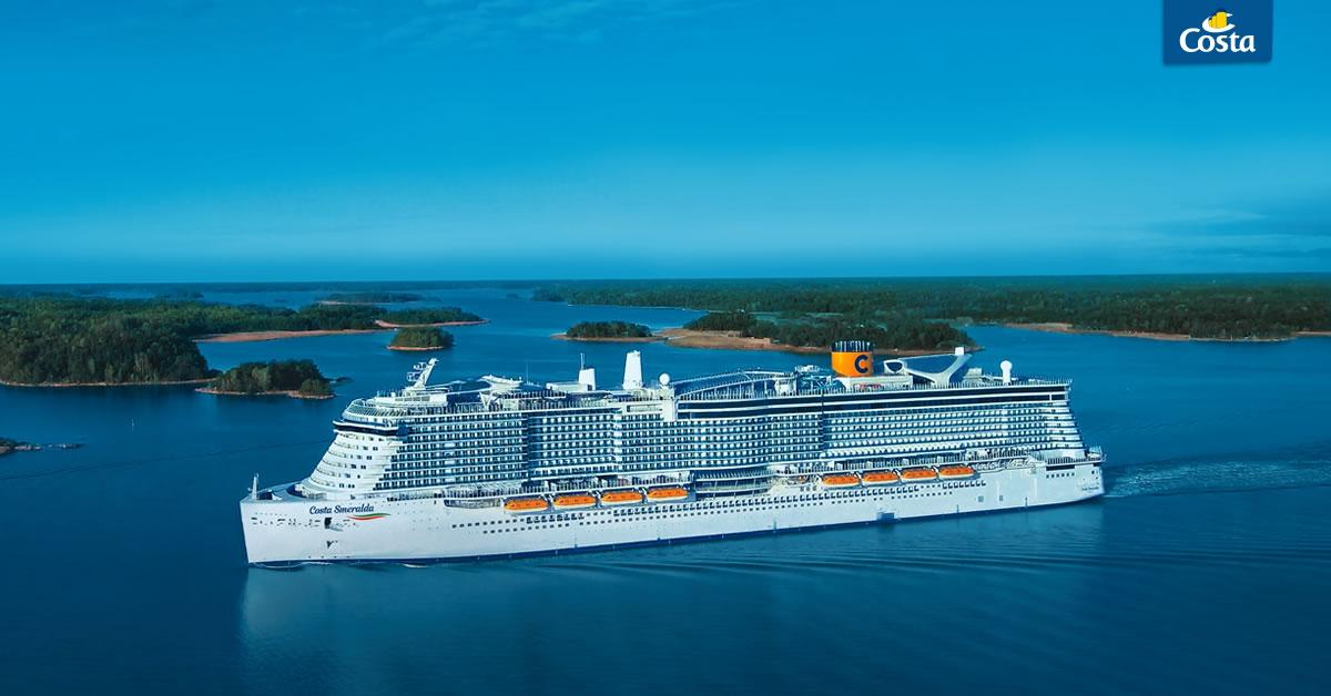 """Costa Kreuzfahrten kehrt zurück mit """"Dem besten von Italien"""" #cruisingagain"""