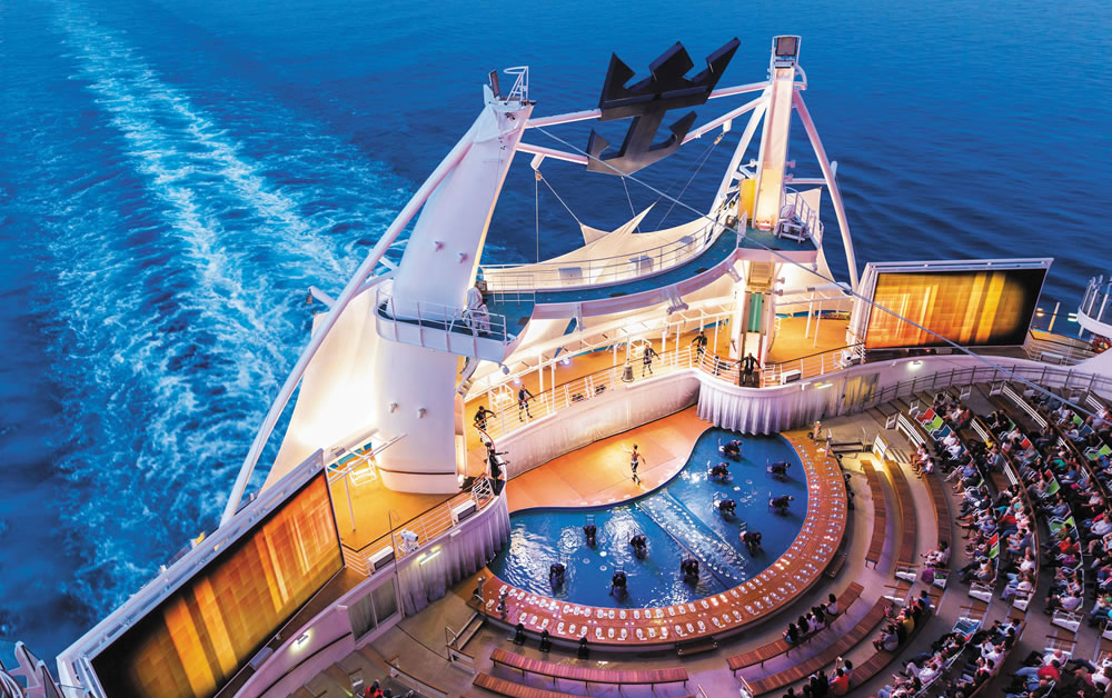Harmony of the Seas Aqua Theater